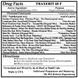 Traxerit 60 F (Aural Antidoldrumine) Mixed by Jay de Miceli at NutekK Labs