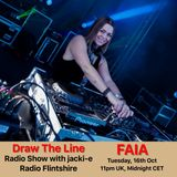 #019 Draw The Line Radio Show 16-10-2018 with guest in 2nd hour Faia
