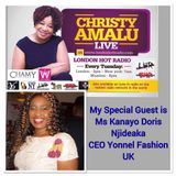 Christy Amalu on London Hott Radio 031917