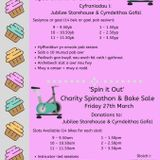 'Spin It Out' - Charity Spinathon & Bake Sale -  Interview with Laureen Pope 09/03/2020
