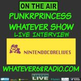 PunkrPrincess Whatever Show live interview with Chase of Nintendocore lives  recorded live 8/23/2016