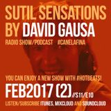 Sutil Sensations Radio Show/Podcast - February 23rd 2017 - With must-have music and hot beats!