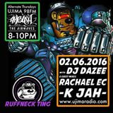 Dazee Presents The Ruffneck Ting Take Over 02.06.2016 with Guest Mixes From K jah And Rachael EC