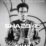 DJ Amen Ra Live on Shade 45 Sway's Universe morning show.