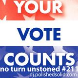 Get your VOTE on! (No Turn Unstoned #211)