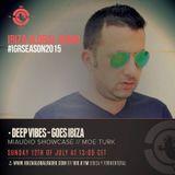 Deep Vibes pres. MIAUDIO Showcase - Guest Moe Turk - 12.07.2015