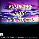 Trax Couture w/ Rushmore, Akito & Evil Streets - 8th April 2016