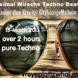 Dreimal Wirsche Techno Beatz zwaehnn dhee Live @ CityLoungeMülheim(15-March-2013)