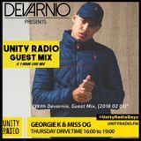 DEVARNIO- UNITY RADIO 92.8FM LIVE GUEST MIX