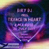 TRANCE IN HEART #50 26-07-17