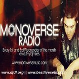 Monoverse  -  Monoverse Radio 041 on AH.FM  - 27-Apr-2015