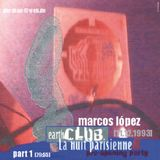 DJ Mix - Marcos López - Earth Club - 11. Dezember 1993 - Teil 1 von 3
