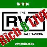 Rich B LIVE in London 16/11/14 EXPLICIT www.richb.co.uk
