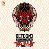 Decipher & Shinra   BLACK   Defqon.1 Australia 2016