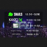 Live set From Snails, Kayzo, And Botnek In El Paso. 1-21-17