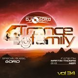 For Trance Family vol.34 Mixed by Martin Thomas aka M2R & Dj.Goro