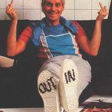 """Kim Schumacher interviewer Carsten Bo fra """"Mænd I Blåt"""". Sendt på Radio Horsens, juni 1985"""