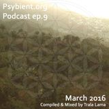psybient.org podcast - episode 09 - March 2016 mixed by Trala Lama