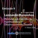Emissão 9 - Leonardo Mansinhos sobre Previsões // Rádio Contrato Cósmico