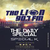 @Penn_State #University #Student #Radio @TheLION907FM w/ @LeSpecial_K