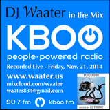 DJ Waater in the Mix Live on KBOO.FM 11-21-2014