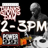 DJ Qlassick Live on Power99 FM Thanksgiving Day (11/23/17)