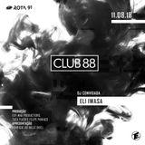 Rota 91 - 11/08/2018 - DJ convidada - Eli Iwasa (Club 88)