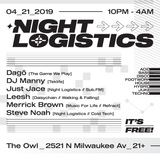 Night Logistics - April 21 2019
