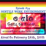 E Alo Gets To Know... HOSTILE WORK ENVIRONMENT (episode 34)