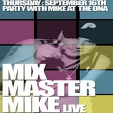 Mixmaster Mike (Beastie Boys DJ) @ DNA Lounge San Francisco - 16.09.2004
