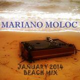 Mariano Moloc - 'Almost Holidays' Beach Mix [January 2014]