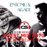 Andry Cristian & Alesana - Club Sessions 070 - Guest  Entoniu&Agape - Live Kickstream TV