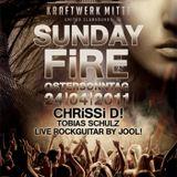 Chrissi D! pres Sunday Fire at Kraftwerk Mitte Easter Sunday 24.04.2011