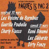Emission du 10/03/2018 spéciale concert Poule à crête avec Les Voisins de Bornibus