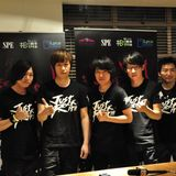 Mayday 五月天 JUST ROCK IT! concert (London) press conference
