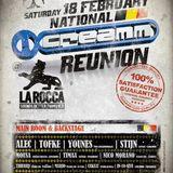 Creamm Reunion - backstage @ La Rocca 18-02-2012