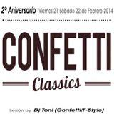 2º Aniversario Confetti Classics (2014)