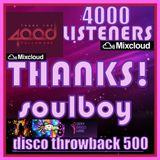 4000 listeners THANKS!! disco throwback 500 part7 no jingles or effects