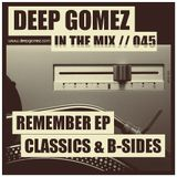 In the mix with DEEP GOMEZ, EP.045 (CLASSICS & B-SIDES)