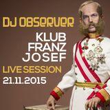 Live @ Klub Franz Josef 21112015