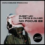 Fernando Barreto No Focus - Cosmos Radio Show | Guest Dj Pete S Oliver