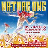 Kerstin Eden @ Nature One 2016 // abstract, Butan, Lehmann