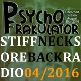 Stiff Neck, Sore Back Radio 2016/04
