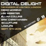 Diego Moreno @Lightbox (London) 5-10-2015