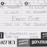 DJ Krust & MC Navigator - BBC Radio One In The Jungle - 03.05.1996