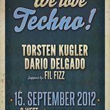 We love Techno Torsten kugler live the last 2 Houer´s @ qwest
