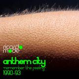 "DJ Rikkee - Anthem City ""Remember the feeling"" 1990 - 1993"