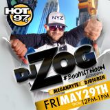 #BoomAtNoon on Hot 97 with DJ Zog