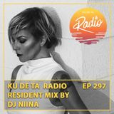 KU DE TA RADIO #297 Part 2 Resident mix by DJ Niina