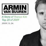 Armin van Buuren - A State of Trance 436 I Top 20 of 2009 (2009.12.24.)